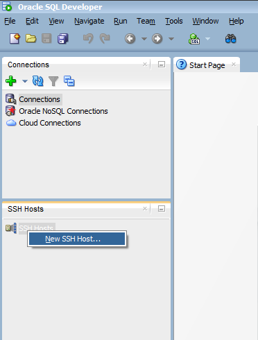 Create Connection to Remote Oracle Database Service using