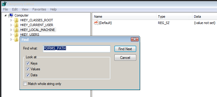 Setting up custom form development environment in Oracle Apps